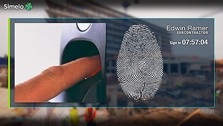 Biometric scanners can be used with additional checks, such as whether or not a worker has the correct clothing or equipment for the scheduled job