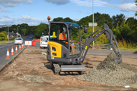 An Ayr-based groundworks contractor turned to Volvo in its search for a reliable machine