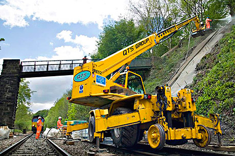 QTS Group made the 'A' grade in the latest published results from Network Rail's contractor ranking system