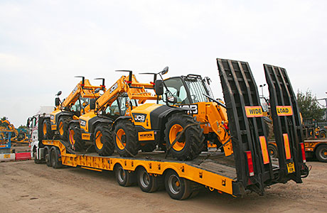 Some of Hewden's new fleet of telehandlers will also be on display.