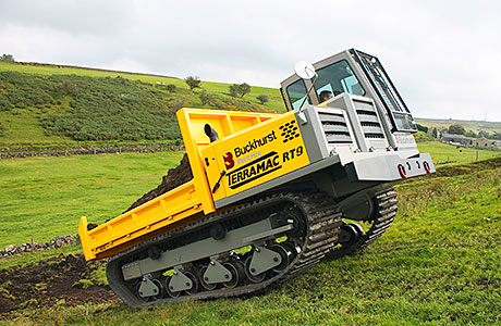 Buckhurst is the UK and Ireland distributor for The Terramac RT9 rubber track carrier.