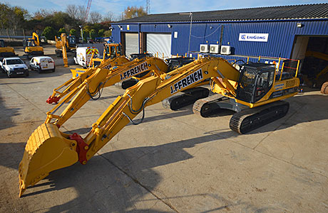 20 Liugong machines will arrive over the next few months, including the first Dressta dozer to the UK.