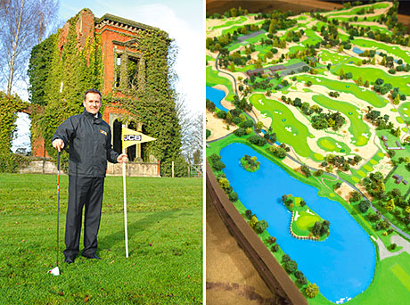 JCB CEO Graeme Macdonald is excited about the plans for the luxury golf course.