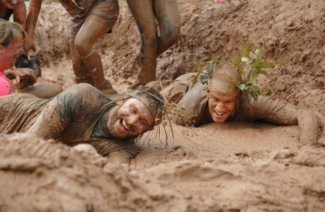 Undercover at the JCB Mud Run 2014