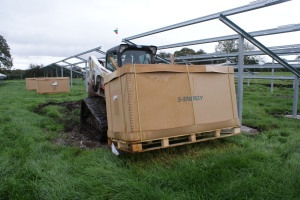 The Bobcat T770 in action