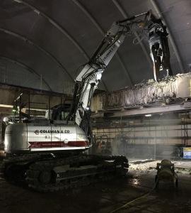 Coleman and Co's JCB Excavator
