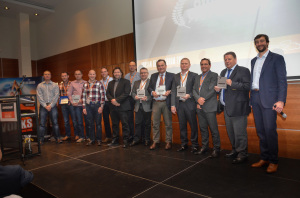 Doosan award-winners at the 2015 Dealer Forum