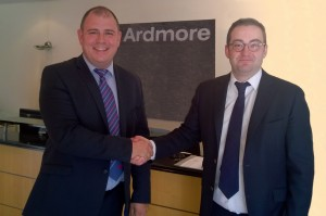 Sealing the deal with Ardmore - Neil Dunning & Michael Byrne