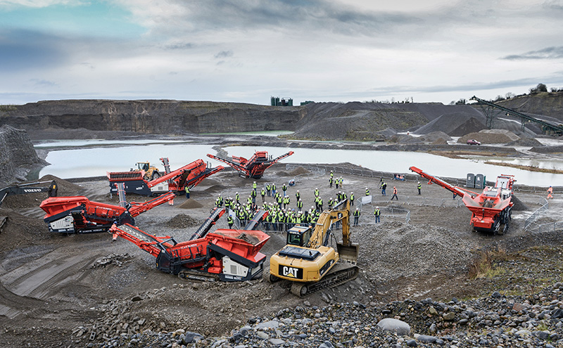 Sandvik Construction Mobile Crushers and Screens Global Distributor Conference in Dublin