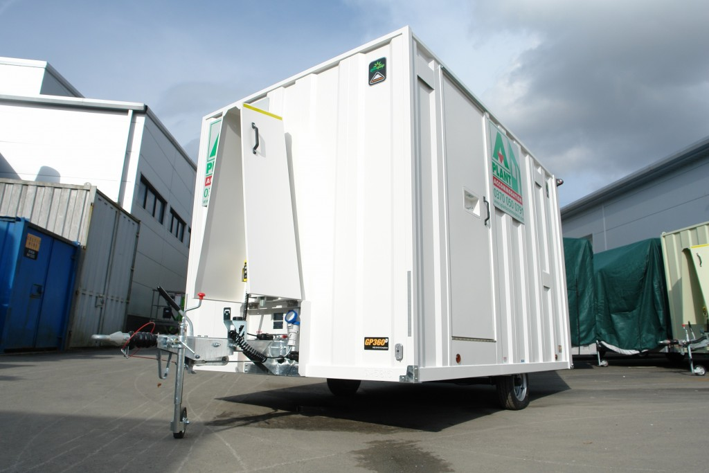 A-Plant Accommodation Mobile Welfare Unit