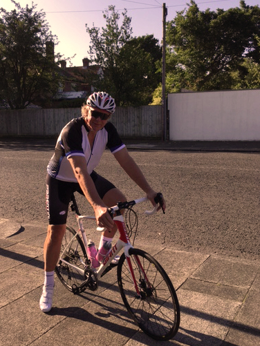 Keith Miller embarks on charity cycle challenge
