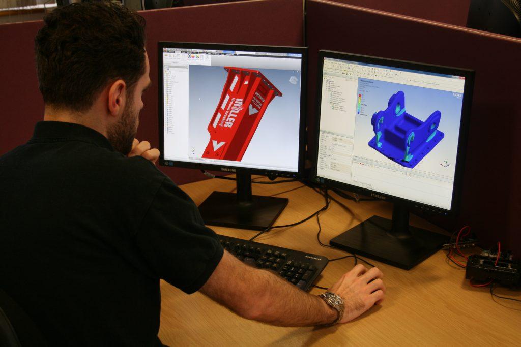 miller-hydraulic-breaker-design-verification