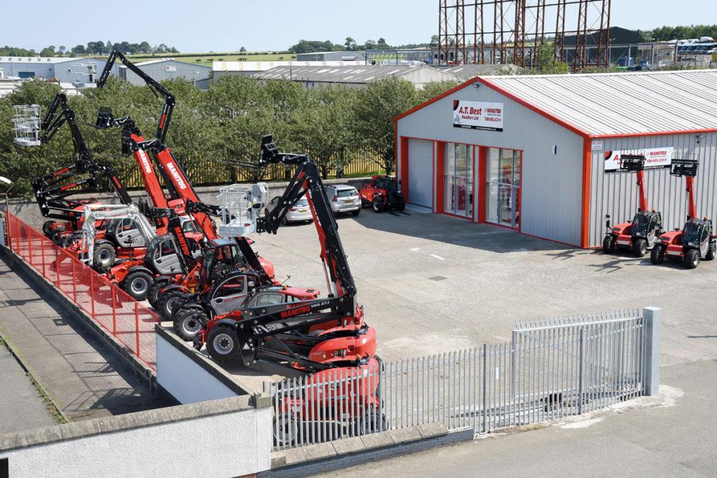 A.T. Best Handlers Ltd new depot Macmerry Industrial Estate