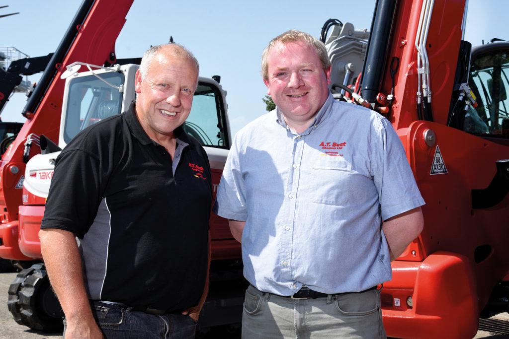 John Shute and Richard Rose of A.T Best Handlers Ltd