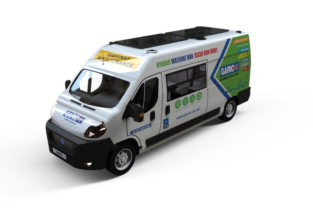 Garic Hybrid Welfare Van