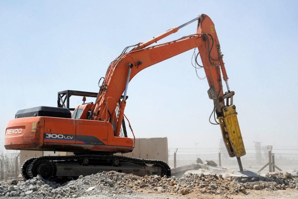 Daewoo 300LCV excavator
